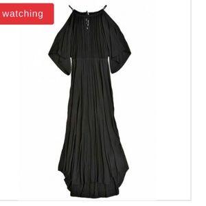 Calypso St. Barth Taris Cold Shoulder Tassel Dress